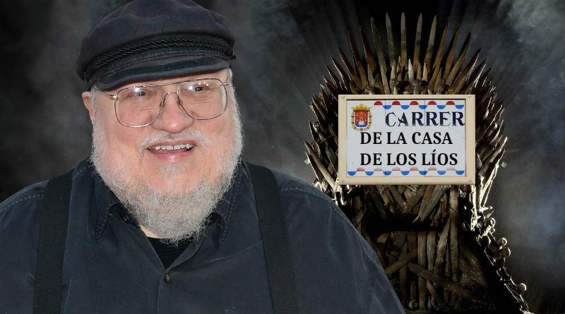 George R.R. Martin pondrá nombres a las calles de Alicante