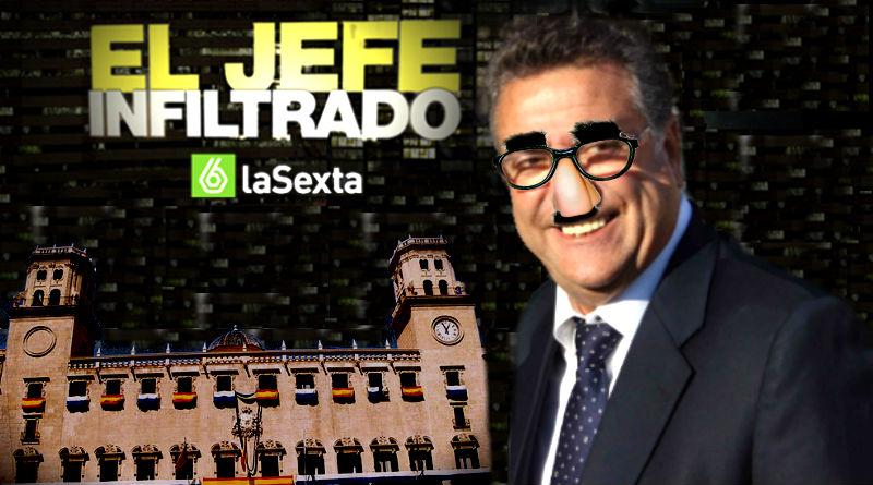 Enrique Ortiz en El Jefe Infiltrado