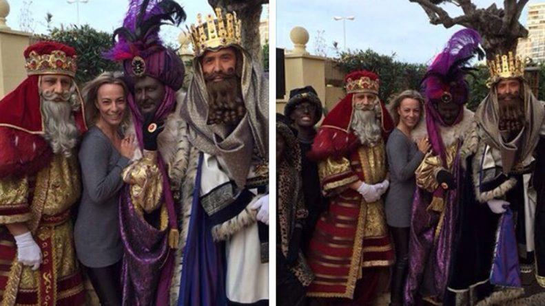 Los Reyes Magos visitaron a Castedo en su casa