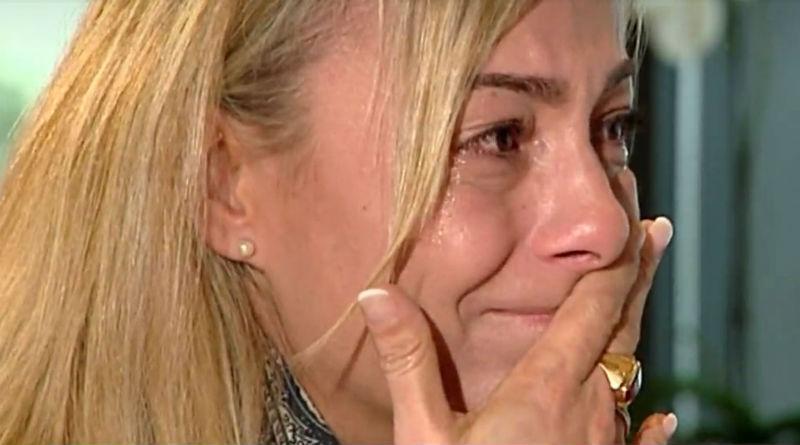 Sonia Castedo llorando