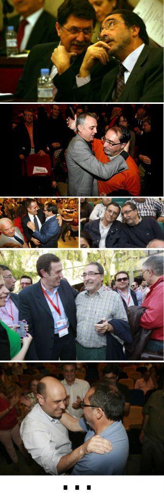Los abrazos de Ángel Franco