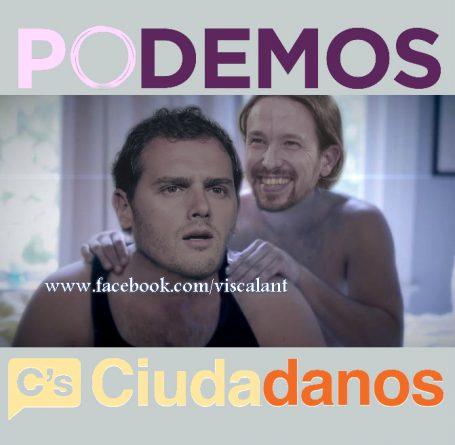 Ciudadanos y Podemos
