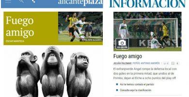 Fuegoamigo en la prensa deportiva alicantina