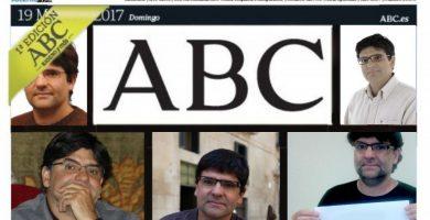 Portada de ABC con Pavón
