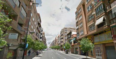 Avenida de Alcoy en Alicante