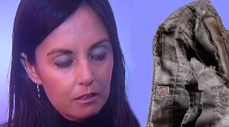 A Elisa Díaz se le ha roto el bolso de Mango Outlet