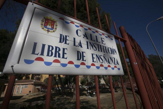 Calle de la Institución Libre de Ensñanza