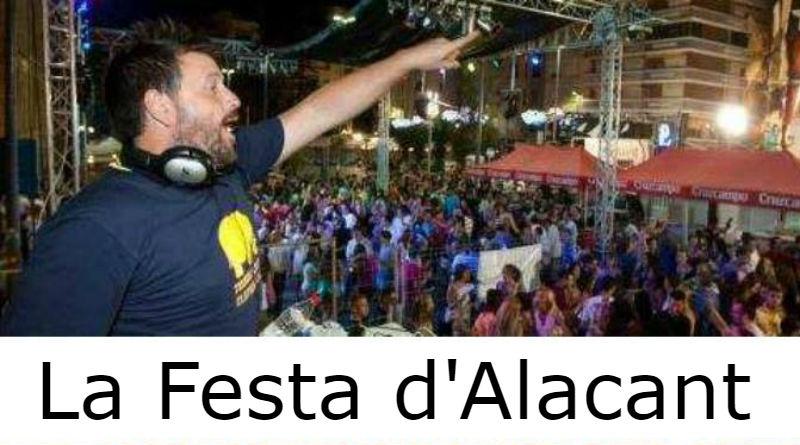 La fiesta en Alicante