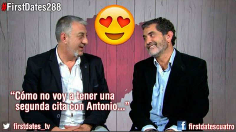 Antonio Sobrino en First Dates