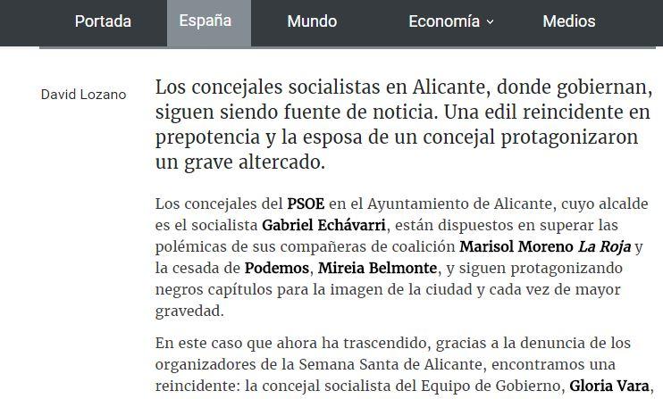 Mireia Belmonte, edil de Podemos en Alicante