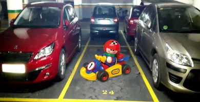 parking de El Corte Inglés