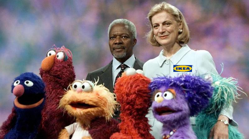 Koffi Annan se ofrece como mediador entre Ikea y el tripartito