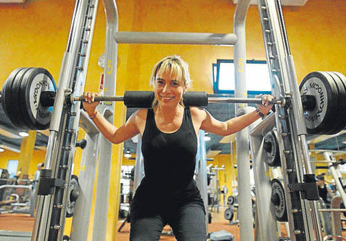 Sonia Castedo en mallas