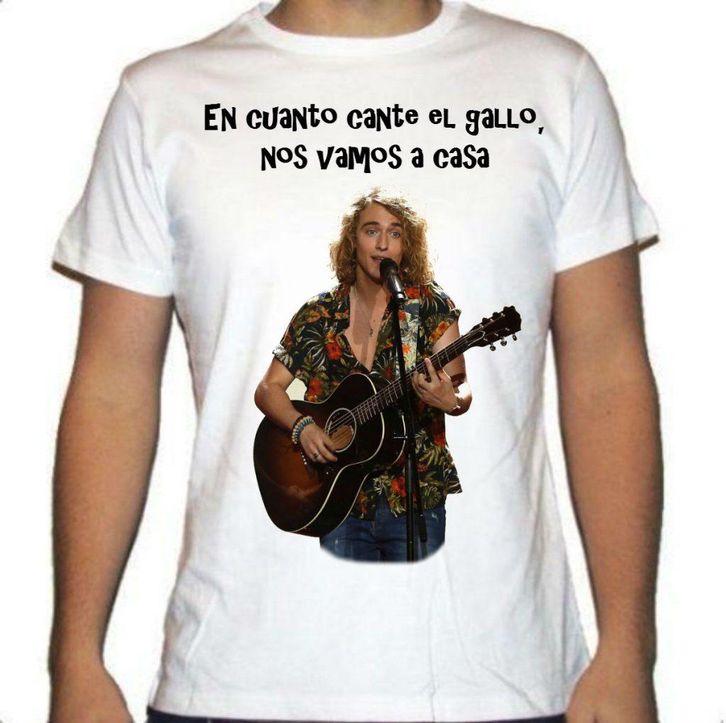 Camisetas del gallo de Eurovisión de Viscalacant