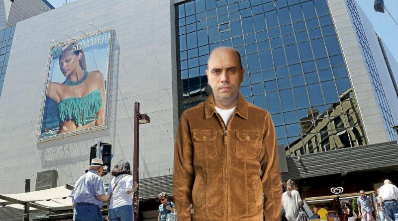 Echávarri, pillado descambiando una chaqueta de pana en El Corte Inglés