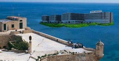 El hotel Meliá se convertirá en una isla para liberar el frente litoral