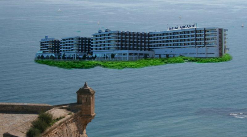 hotel Meliá isla