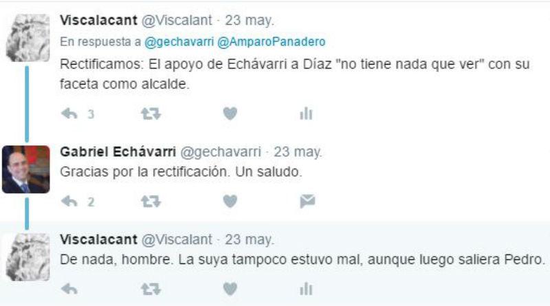 Una tarde tuitera con Echávarri, la mujer de Puig, periodistas y sicarios