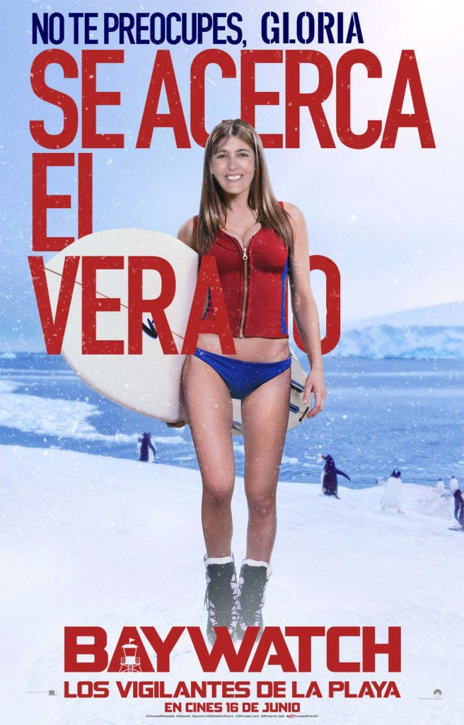 Gloria Vara como Vigilante de la Playa