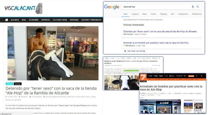 """El caso del """"follavacas"""" o cómo algunos medios """"serios"""" se ríen del Periodismo"""