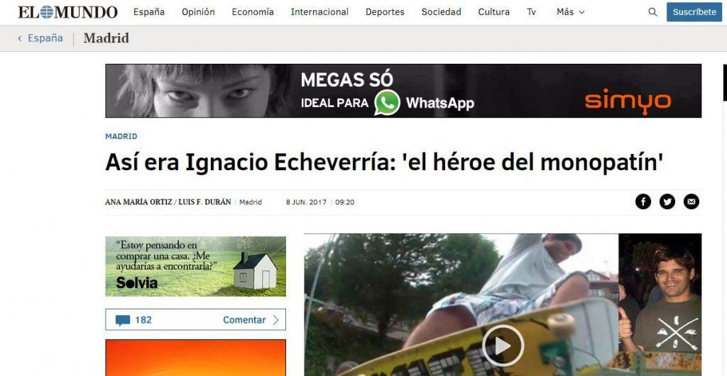 homenaje al héroe del monopatín en Alicante