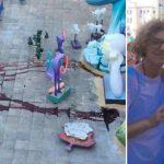 Guanyar Alacant suciedad Hogueras