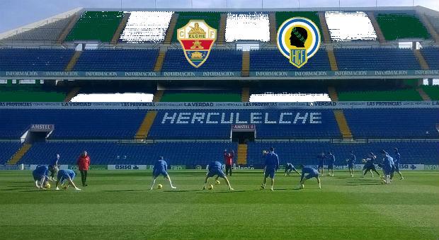 Recreación del Rico Pérez como estadio del Herculelche o Elchércules