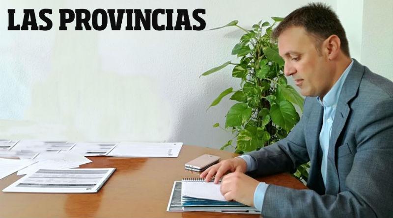 Bellido presenta el Plan Ciudad a Las Provincias edición Alicante
