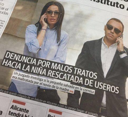 Useros en lugar de Luceros en la portada de Las Provincias edición Alicante