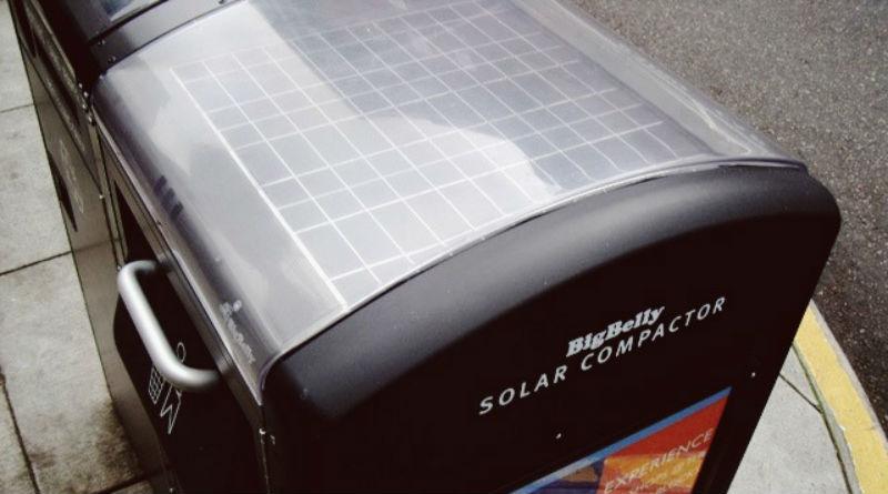 Las placas solares que usarán los contenedores veganos en Alicante