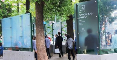 Alicante prohibido fumar calle
