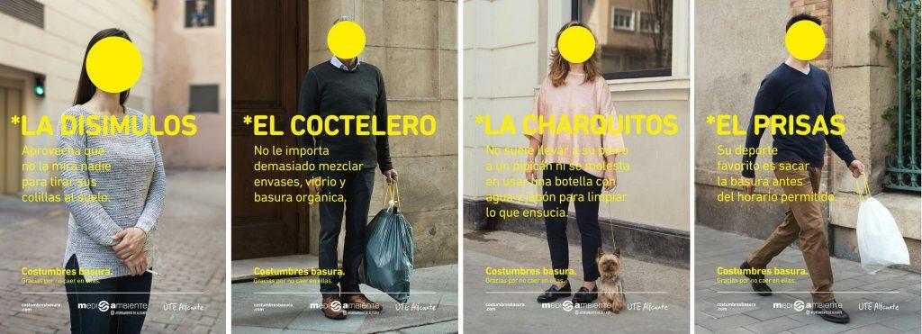 Costumbres basura en Alicante