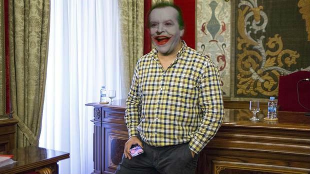 Juanfran Escudero y su sonrisa de Joker