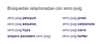 búsquedas relacionadas con Ximo Puig