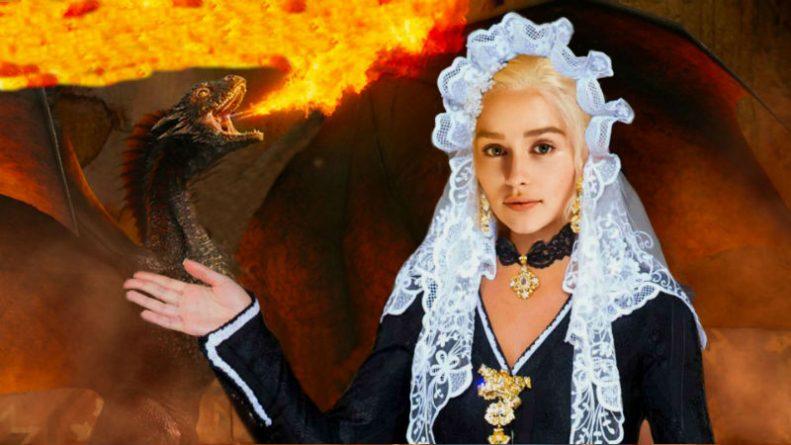 Daenerys Targaryen, khaleesi del Foc