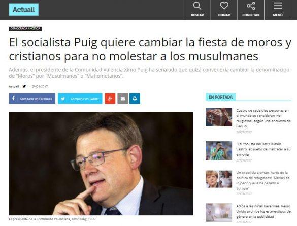 Ridículo de Hazte Oír al difundir en su diario digital una noticia falsa de Viscalacant