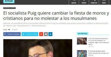Hazte Oír difunde una noticia falsa en su portal de noticias