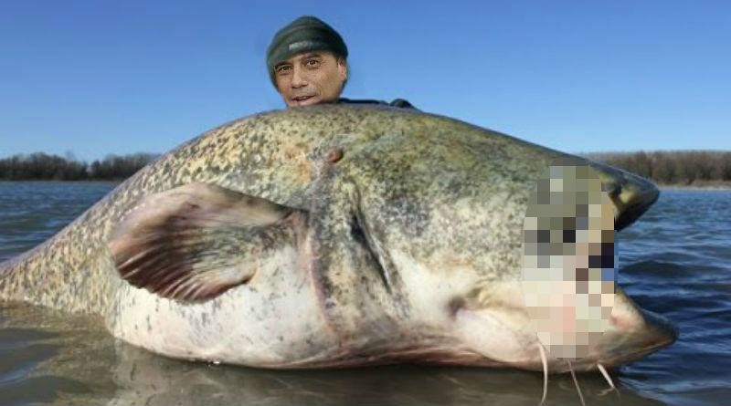 Gabriel Echávarri con el pez gordo del PP que ha capturado