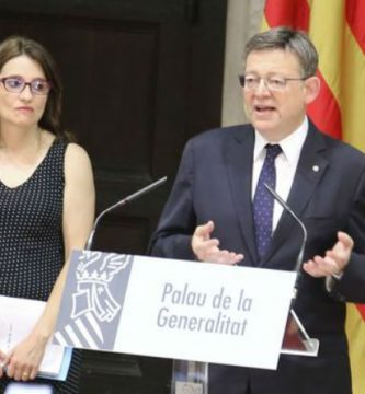 Ximo Puig y Mònica Oltra informano de sus propuestas sobre los Moros y Cristianos