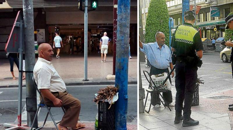 La Policía precinta la Albufereta al desvelar el vendedor de regaliz de Maisonnave que es allí donde la obtiene