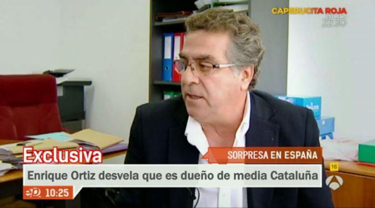 """Ortiz revela a los catalanes que el 60% de su territorio """"es suelo mío"""""""