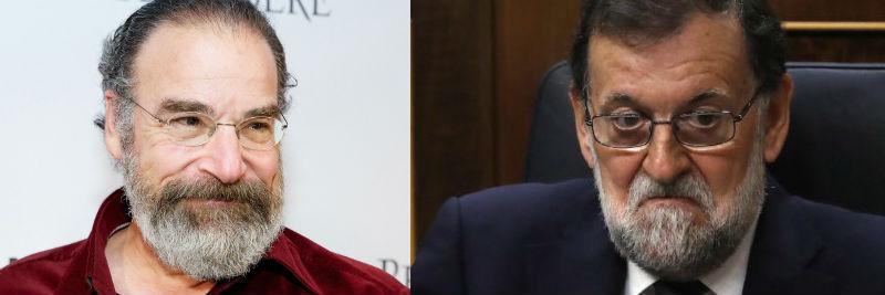 Saul Berenson y el presunto presidente del Gobierno de España