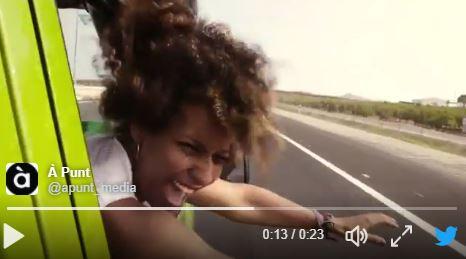 Imprudencias de tráfico en los vídeos de À Punt