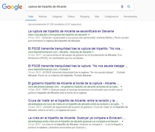 SEO local en Alicante