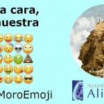 """""""Para cara, la nuestra"""", lema de la campaña para pedir que la Cara del Moro se convierta en emoji"""