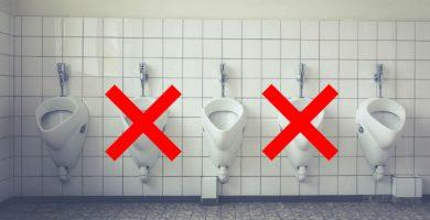 urinario de distancia