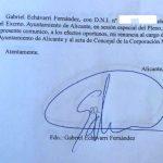 La dimisión de Gabriel Echávarri no fue legal