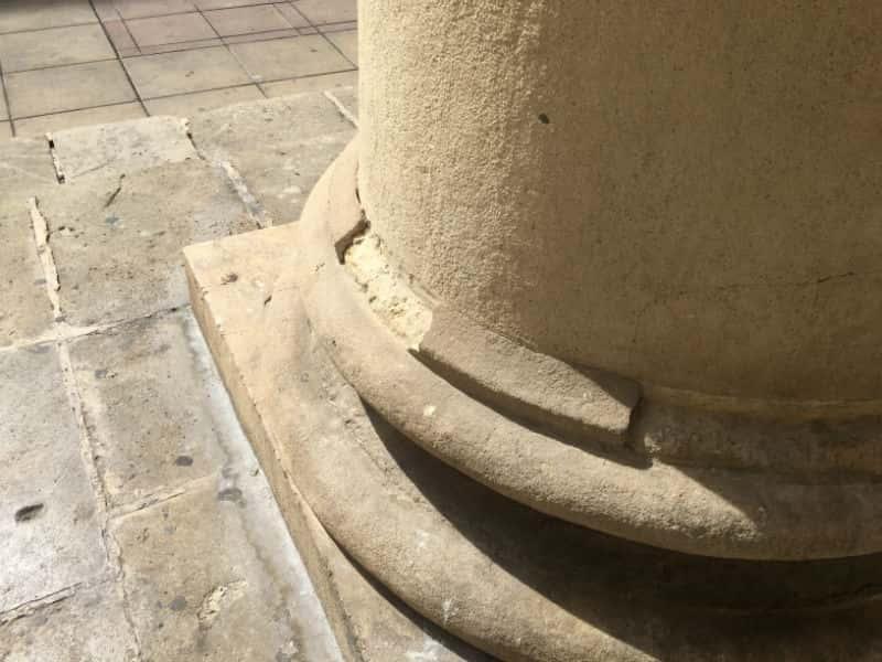 Desperfectos en el Teatro Principal de Alicante