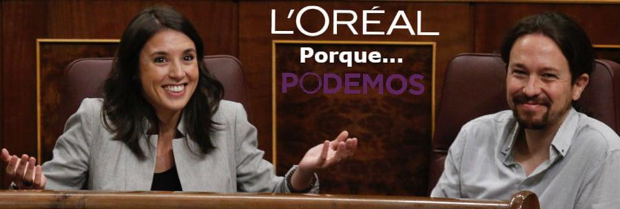 Meme de Pablo Iglesias e Irene Montero