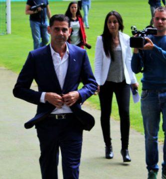 Fernando Hierro, ministro de Cultura y Deporte